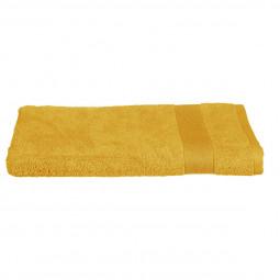 Drap de bain ocre 100x150 cm
