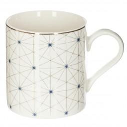 Coffret Mug avec décor, filtre à thé et repose sachet 380 ML
