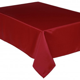 Nappe anti-tâche rouge 140x240 cm