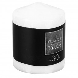 Bougie ronde blanche H9 225G