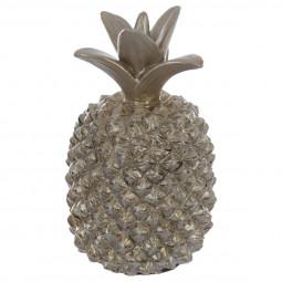 Ananas résine champagne 19CM