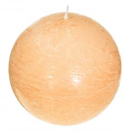 Bougie boule parfumée FLEUR DE VANILLE ELEA D 10 cm