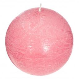 Bougie boule parfumée BARBE A PAPA ELEA D 10 cm