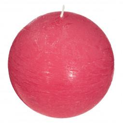 Bougie boule parfumée PASSION FRAMBOISE ELEA D 10 cm