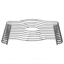 Dessous de plat PVC gris 29X26