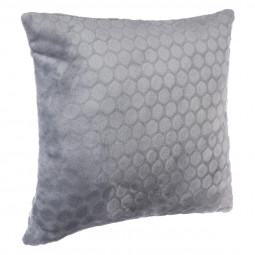 Coussin microfibre galet 38X38
