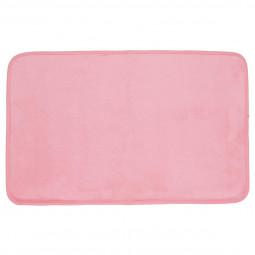 Tapis velours rose clair 50x80 cm