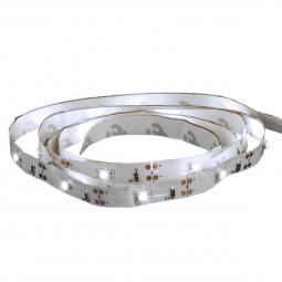 Ruban LED blanc froid à piles 1M