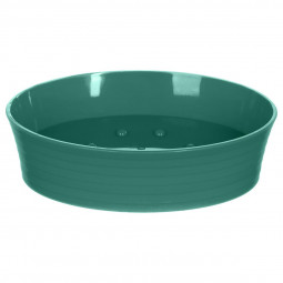 Porte savon stripe vert émeraude
