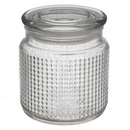 Bonbonnière en verre 11 cm la dolce vita