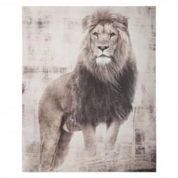 Toile imprimée Lion 38X48