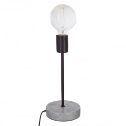 Lampe socle marbre contemporain H30