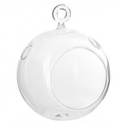 Boule verre terrarium D16