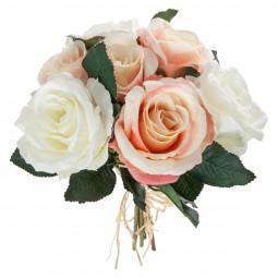 Bouquet de 7 roses vieillies H30