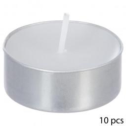 Lot de 10 bougies parfumées jasmin thea