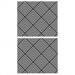 Lot de 2 stickers graphiks 70x80