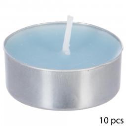 Lot de 10 bougies parfumées fleur de tiaré