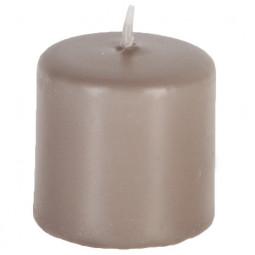 Lot de 4 bougies VTV taupes 3,8X3,8