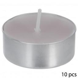 Lot de 10 bougies CP parfumées gardenia thea