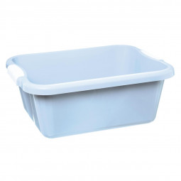 Bassine rectangle 10 L Bleu modèle Come