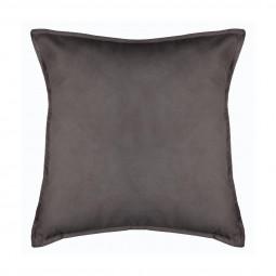 Coussin Lilou gris foncé 45 x 45 cm