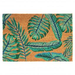 Paillasson coco décor Tropic 40x60 cm