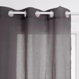 Voilage gris Ana 140 x 240 cm