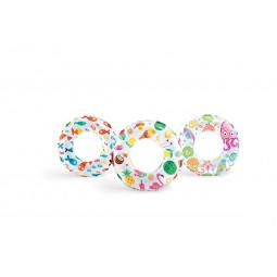 Une Bouée gonflable imprimée D 61 cm - Age 6 à 10 ans