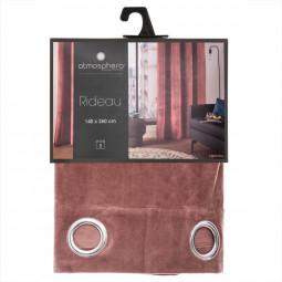 Rideau Lilou blush 140X260
