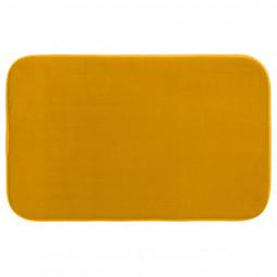 Tapis de bain mémoire de forme moutarde 50X80