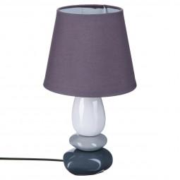 Lampe galet en céramique