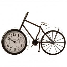 Pendule à poser vélo noir D52