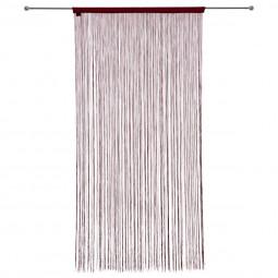 Rideau de fil rouge 120X240