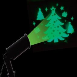 Projecteur extérieur à LED Sapin à lumière fixe