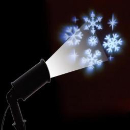 Projecteur extérieur à LED Flocons à lumière fixe