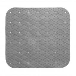 Fond de douche en pvc 55 x 55 cm gris