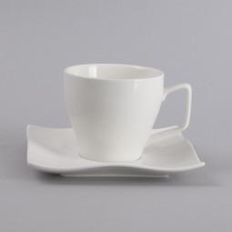 Tasse à thé + soucoupe onde 7.5cm