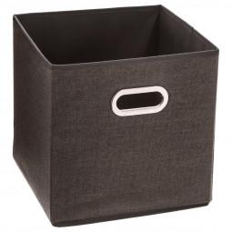 Boîte de rangement  marron chiné 31X31