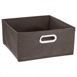 Boîte de rangement marron chiné 31X15