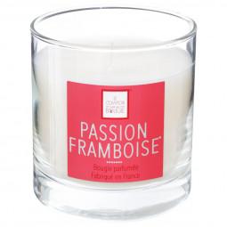 Bougie parfumée passion framboise elea 470G
