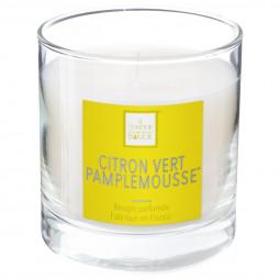 Bougie parfumée citron pamplemousse elea 470G
