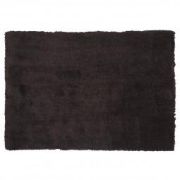 Tapis doux à poils longs gris 120x170