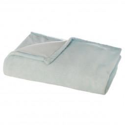 Plaid tie & dye turquoise 125X150