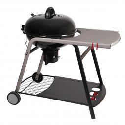 Barbecue à charbon D57 avec couvercle + tablette Pyla