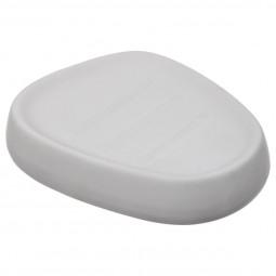 Porte savon silk mat blanc Hestia