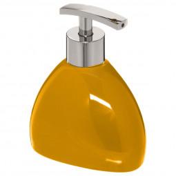 Distributeur à savon jaune moutarde silk