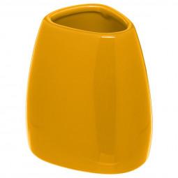 Gobelet silk jaune moutarde