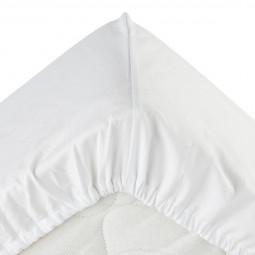 Drap housse blanc 160x200
