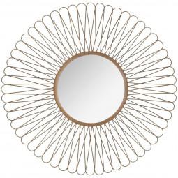 Miroir soleil métal boucle D76