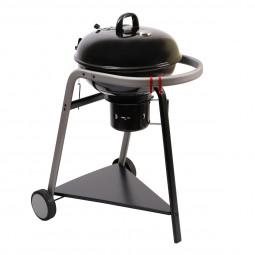 Barbecue à charbon D46 avec couvercle neka pyla
